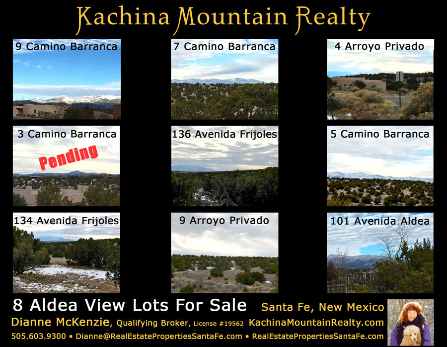 Santa Fe View Lot For Sale in Aldea is Pending!