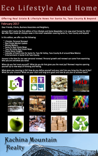 Eco Lifestyle and Home Newsletter February Edition