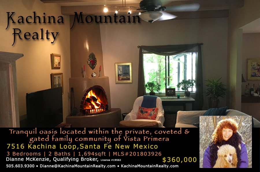 Kachina Mountain Realty - Santa Fe & Taos Properties For Sale